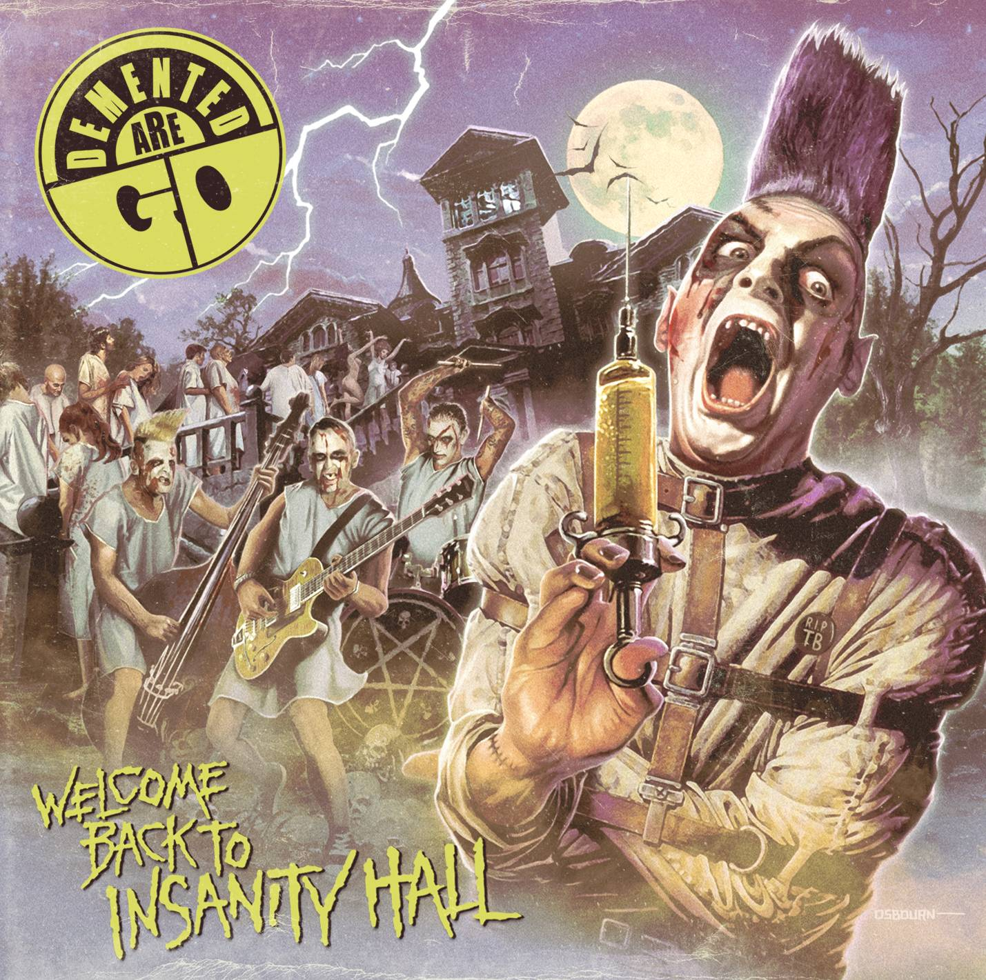 Review Demented Are Go Welcome Back To Insanity Hall