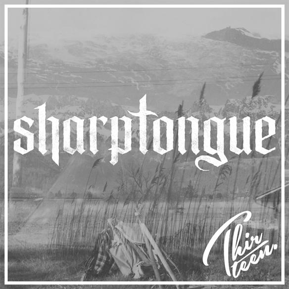 Sharptongue - Thirteen - Artwork
